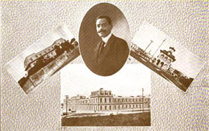 National Palace (Haiti) - Georges H. Baussan, architect of the present-day National Palace, as shown in 1920.