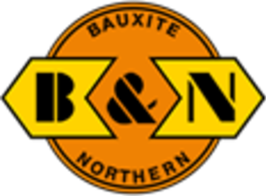 Bauxite and Northern Railway - Image: Bauxite and Northern Railway logo