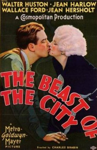 The Beast of the City - Promotional poster