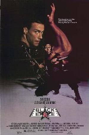 Black Eagle (1988 film) - Theatrical release poster