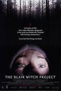<i>The Blair Witch Project</i> 1999 film by Daniel Myrick, Eduardo Sánchez