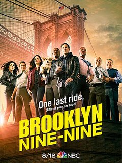 <i>Brooklyn Nine-Nine</i> (season 8) Season of American television series Brooklyn Nine-Nine