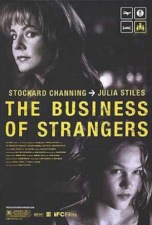 The Business of Strangers - Theatrical release poster