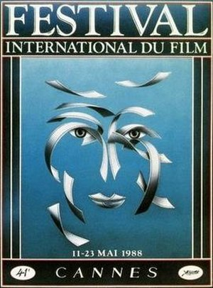 1988 Cannes Film Festival - Image: CFF88poster