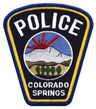 Colorado Springs Police Department - Image: CO Colorado Springs Police