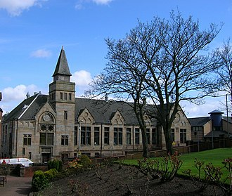 Cambuslang - Cambulang's original public school (1882) became Cambuslang College of the Building Trades and then subsequently a nursing home.