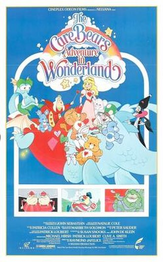 The Care Bears Adventure in Wonderland - Theatrical release poster