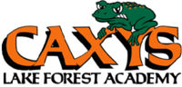 Caxy the Lake Forest Academy frog.png