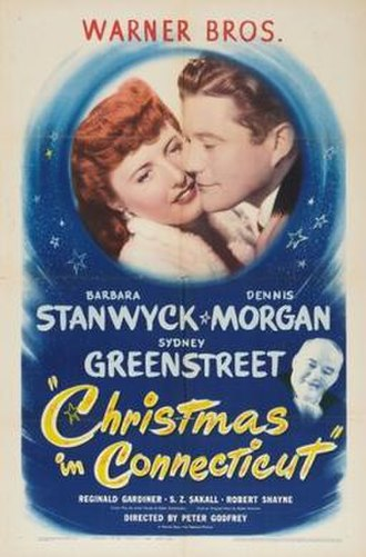Christmas in Connecticut - One of theatrical release posters