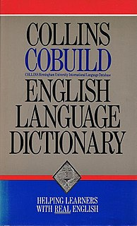 <i>Collins COBUILD Advanced Dictionary</i>