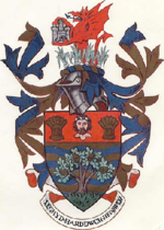 Arms of Colwyn Borough Council