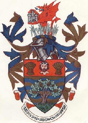 Colwyn - Arms of Colwyn Borough Council