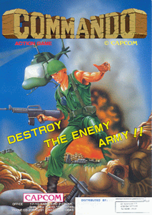Commando (video game) - Image: Commando flyer