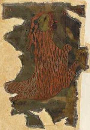 Otho-Corpus Gospels - The Lion of Mark.