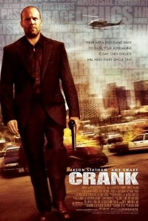 Crank (film) - Theatrical release poster