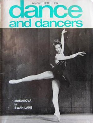 Dance and Dancers - June-July 1980.  The last issue from Hansom Books.