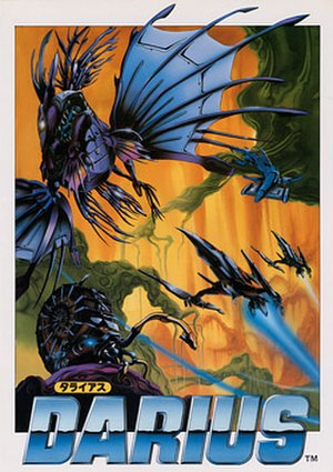 Darius (video game) - Arcade flyer