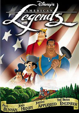 Disney's American Legends - Home video release cover