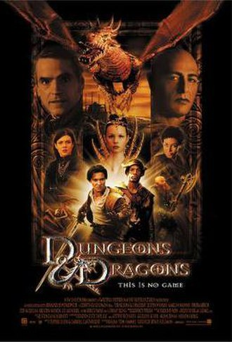 Dungeons & Dragons (film) - Theatrical release poster