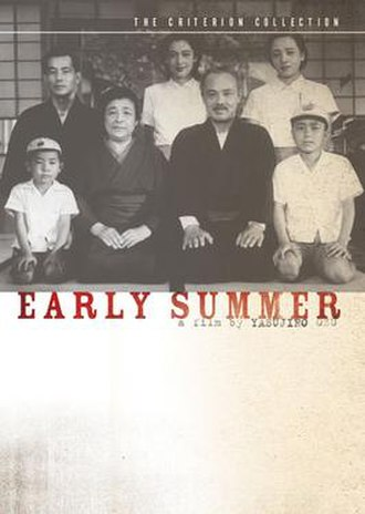 Early Summer - Criterion Collection DVD cover