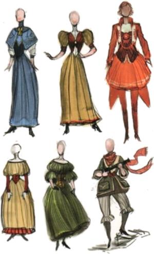Elizabeth (BioShock) - Image: Elizabeth concept art