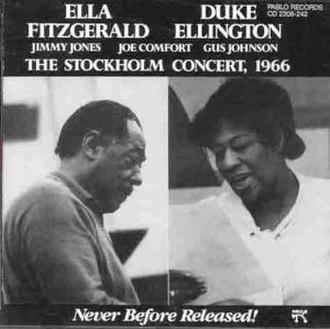 The Stockholm Concert, 1966 - Image: Ella Stockholm Concert