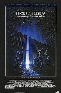 <i>Explorers</i> (film) 1985 film directed by Joe Dante