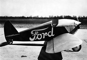 Ford Flivver - Ford Flivver c. 1927. Note: Full-span ailerons.