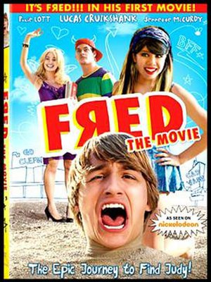 Fred: The Movie - DVD cover of the movie