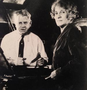 Bertha M. Goudy - Image: Frederic and Bertha Goudy