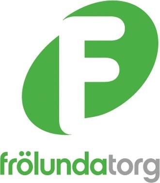 Frölunda Torg - Image: Frolundatorg logo