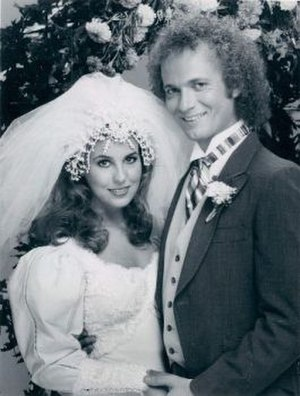 Luke and Laura - Luke and Laura Spencer at their wedding in 1981.