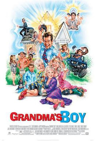 Grandma's Boy (2006 film) - Theatrical release poster
