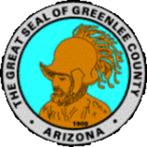 Greenlee County, Arizona - Image: Greenlee County, Arizona seal
