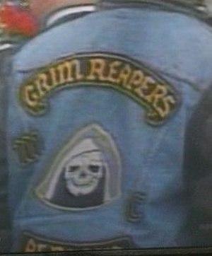 Grim Reapers Motorcycle Club (Canada) - Grim Reapers Motorcycle Club, Alberta colours