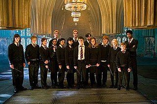 fictional student organisation in the Harry Potter series