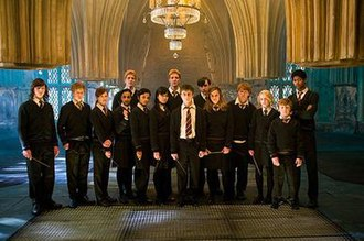 Dumbledore's Army - Dumbledore's Army members as seen in Harry Potter and the Order of the Phoenix
