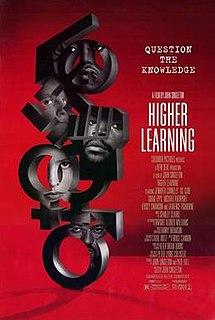 <i>Higher Learning</i> 1995 film by John Singleton
