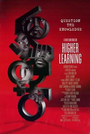 Higher Learning - Theatrical release poster