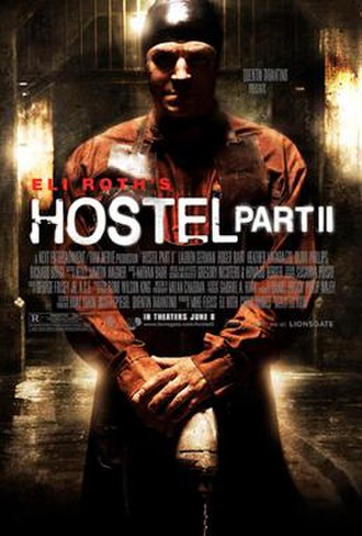 Hostel: Part II - Theatrical release poster