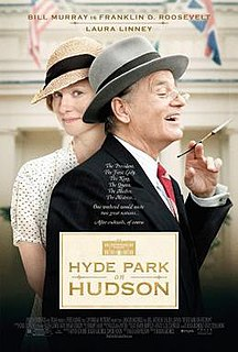 <i>Hyde Park on Hudson</i> 2012 British comedy drama film directed by Roger Michell