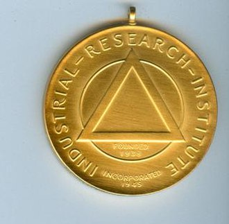 IRI Medal - Picture of IRI Medal, side 2.