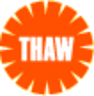 Theaters Against War - THAW Logo