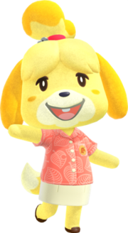 Isabelle (<i>Animal Crossing</i>) fictional video game character from the Animal Crossing series