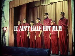 It Ain't Half Hot Mum - Image: It Aint Half Hot Mum television comedy
