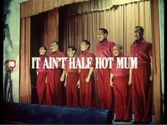 It Ain't Half Hot Mum - Image: It Aint Half Hot Mum television comedy