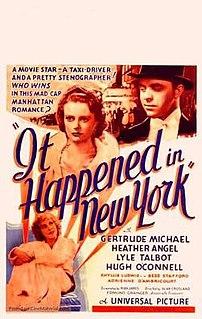 <i>It Happened in New York</i> 1935 film by Alan Crosland