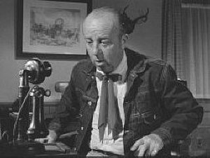 "J. Pat O'Malley - As ""Perkins"" in the 1955 hit television serial, Spin and Marty"