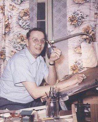 Jack Cole (artist) - Image: Jack Cole 1956