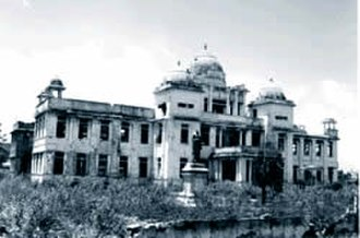 Burning of Jaffna Public Library - Burnt shell of the library